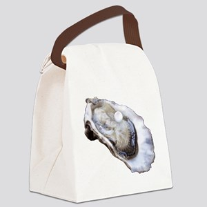 oyster with pearl Canvas Lunch Bag