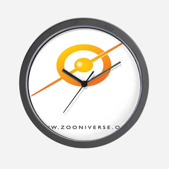 ZOONIVERSE shirt back WHITE Wall Clock