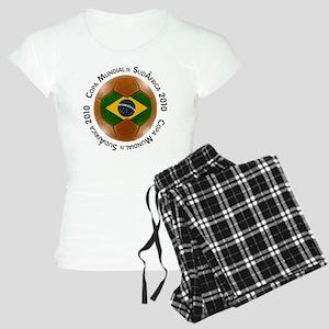 brazil lg white Women's Light Pajamas