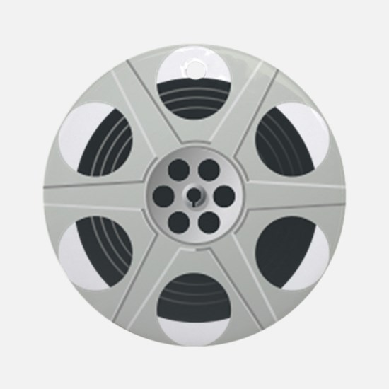 Movie Reel Ornament (Round)
