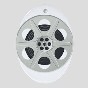 Movie Reel Ornament (Oval)