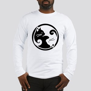 yin-yang-cats Long Sleeve T-Shirt