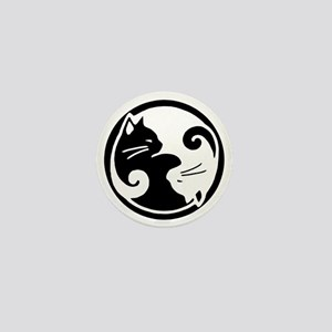 yin-yang-cats Mini Button