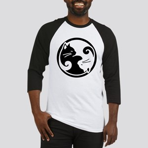 yin-yang-cats Baseball Jersey