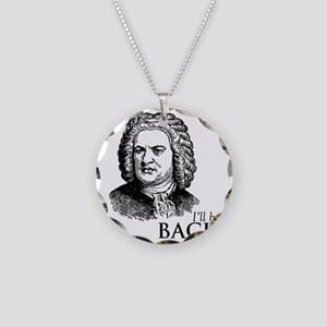 ill_be-bach Necklace Circle Charm