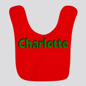 Charlotte Red and Green Bib