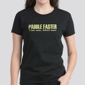 Paddle Faster Light Shirts Women's Dark T-Shirt