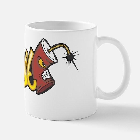 "Graffiti ""Dynamite"" Design Mug"
