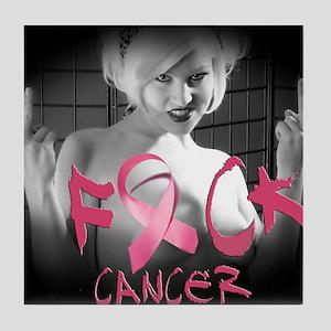 F-Cancer Tile Coaster
