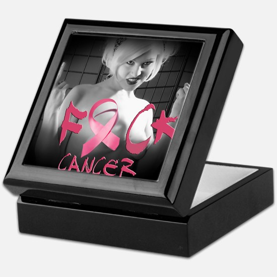 F-Cancer Keepsake Box