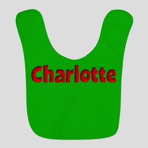 Charlotte Green and Red Bib