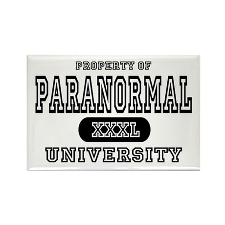 Paranormal University Rectangle Magnet (10 pack)