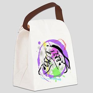 grunge irish dance Canvas Lunch Bag