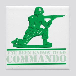 commando1 Tile Coaster