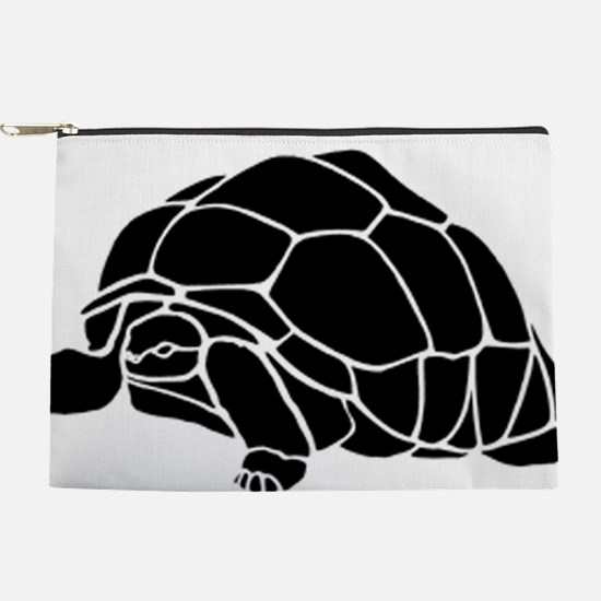 Tortoise silhouette Makeup Pouch