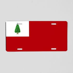 flag03 Aluminum License Plate
