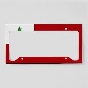 flag03 License Plate Holder
