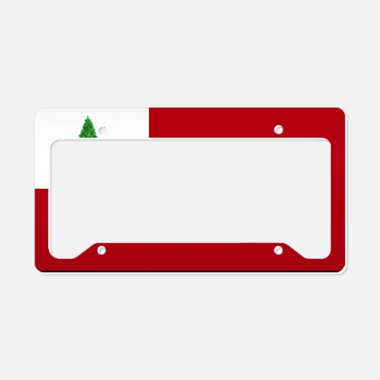 flag03 License Plate Holder
