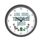 "Rockhound ""Tourmaline Queen"" Wall Clock"