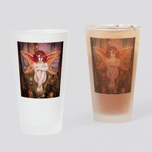 Ember-The Fire Sprite Drinking Glass