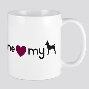 Love My Toy Fox Terrier Mug