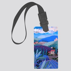 tuscany-moon Large Luggage Tag