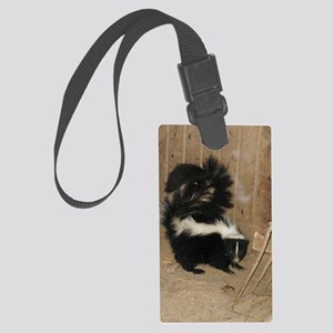 Baby Skunk Large Luggage Tag