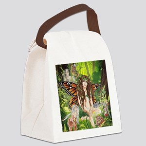 Terra-Daughter of Gaia Faerie Canvas Lunch Bag