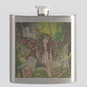 Terra-Daughter of Gaia Faerie Flask