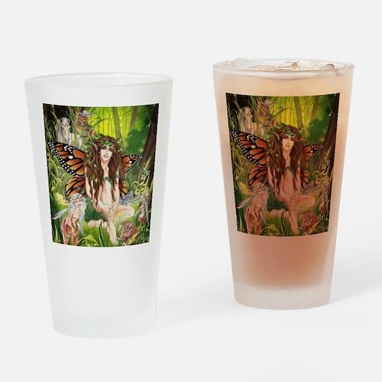 Terra-Daughter of Gaia Faerie Drinking Glass