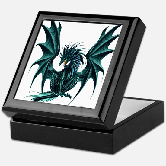 Jade Dragon Keepsake Box