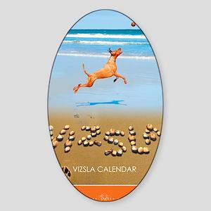 Beach_1_Cover Sticker (Oval)