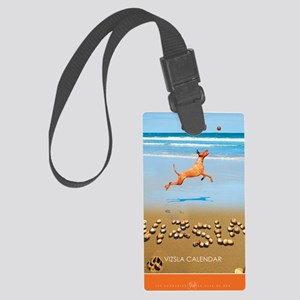Beach_1_Cover Large Luggage Tag