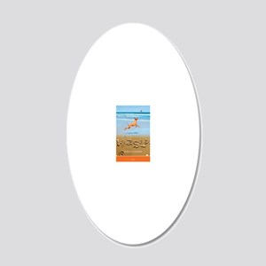 Beach_1_Cover 20x12 Oval Wall Decal