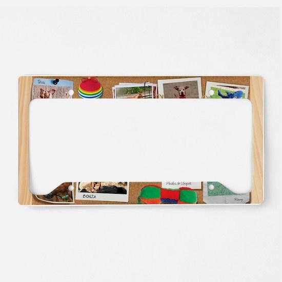 Corkboard_2_January License Plate Holder