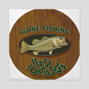 Gone Fishing Queen Duvet