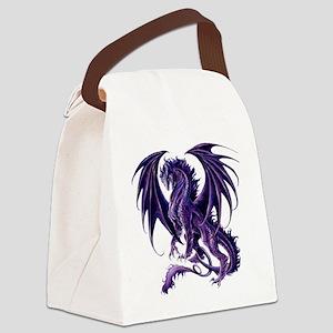 Draconis Nox Dragon Canvas Lunch Bag