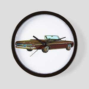 1963 Plymouth Sport Fury Wall Clock