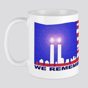 TWIN TOWER candles BANNER 300 Mug
