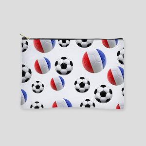 France Soccer Balls Makeup Pouch