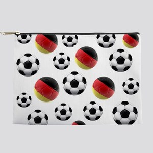Germany Soccer Balls Makeup Pouch