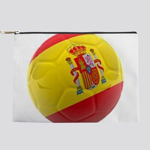 Spain world cup soccer ball Makeup Pouch