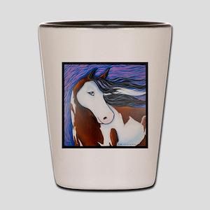 Paint Horse Luna Shot Glass