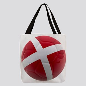 Denmark world cup ball Polyester Tote Bag