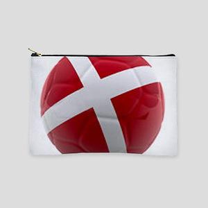 Denmark world cup ball Makeup Pouch