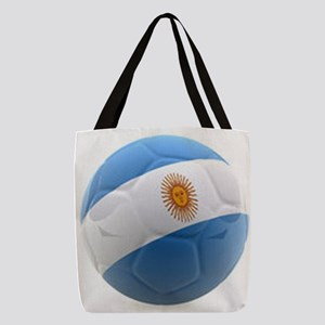 Argentina world cup Ball Polyester Tote Bag