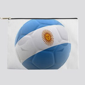 Argentina world cup Ball Makeup Pouch