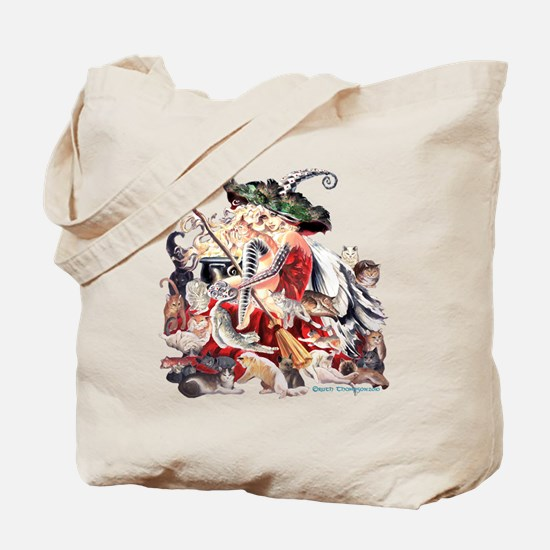 Ruth Thompsons Faerie Witch of Cats Tote Bag