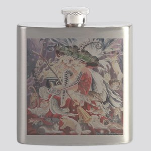 Ruth Thompsons Faerie Witch of Cats Flask