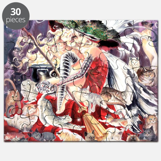 Ruth Thompsons Faerie Witch of Cats Puzzle